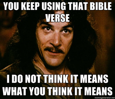 Do you read from the Bible or read into the Bible? Do you know the difference?