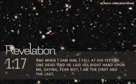 Revelation 1 17