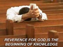 reverence b