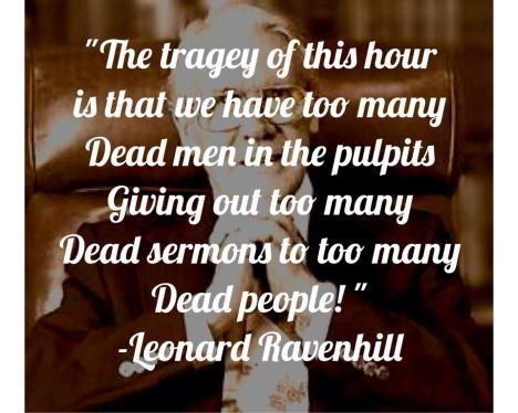 dead sermons